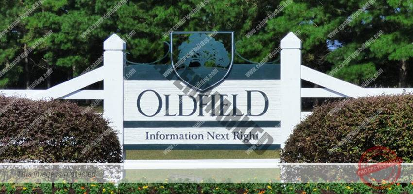 Oldfield Entry Sign